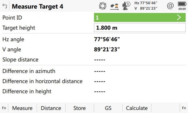 Measure Target 4