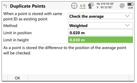 Using Point Averaging inside Leica Captivate and Infinity 1