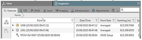 Using Point Averaging inside Leica Captivate and Infinity 6