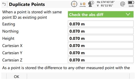 Using Point Averaging inside Leica Captivate and Infinity4