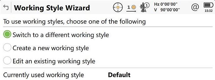 working style wizard